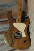 Nick Page Guitars Baron Prime Cigar Box Finish
